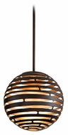 Corbett 138-41 Tango Bronze 12 Inch Diameter Spherical Mini Pendant Light