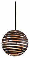 Corbett 138-43 Tango Medium 23 Inch Diameter Spherical Bronze LED Hanging Light Fixture