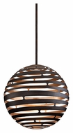 Corbett 138-44 Tango LED Large 30 Inch Diameter Spherical Bronze Pendant Light