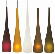 LBL HS463 Cypree Small Modern Organic Mini Pendant Light