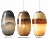 LBL HS593 Emi Two-toned Modern Pendant Light