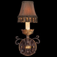 Fine Art Lamps 220750 Castile Classic Old World Wall Sconce with Shade