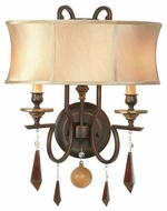 World Imports 766229 Turin 2-light Style Wall Sconce