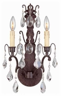 World Imports 960289 Timeless Elegance 2-light Style Wall Sconce