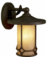 Kichler 9365-AGZ Chicago Aged Bronze Mission Wall Sconce / Outdoor Lantern