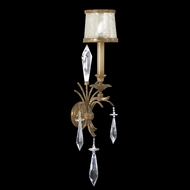 Fine Art Lamps 569050 Monte Carlo Small 1-lamp Crystal Wall Lighting Sconce