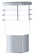 EGLO 86391A Calgary Modern 10 Inch Tall Stainless Steel Path Light