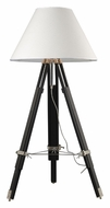 Dimond D2127 Studio Chrome & Black Finish Tripod Floor Lamp - 67 Inches Tall
