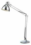 Dimond D2177 Ingelside 63 Inch Tall Standing Chrome Architect Floor Lamp