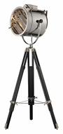 Dimond D2126 Curzon 67 Inch Tall Chrome & Black Spotlight Floor Lamp