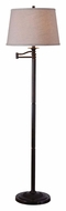Kenroy Home 32215CBZ Riverside 58 Inch Tall Copper Bronze Floor Lamp