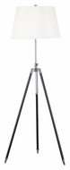 Kenroy Home 21521ORB Surveyor Tripod 62 Inch Tall Floor Lamp - Oil Rubbed Bronze