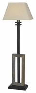Kenroy Home 30516SL Egress 58 Inch Tall Standing Floor Lamp - Natural Slate