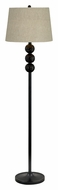 Kenroy Home 21053DBZ Twilight 58 Inch Tall Dark Bronze Club Floor Lamp