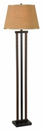 Kenroy Home 10034BBL Whip 58 Inch Tall Bronze Floor Lamp Light