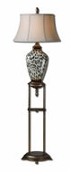 Uttermost 28876 Malawi Burnished Cheetah Print 64 Inch Tall Floor Lamp Lighting