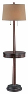 Lite Source LS81347 Kaylor Floor Lamp with Table