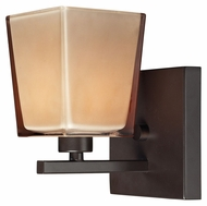 ELK 11436/1 Serenity 7 Inch Tall Oiled Bronze Transitional Wall Light - Halogen