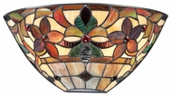 Quoizel TFKM8802VB Kami 7 Inch Tall Tiffany Pocket Wall Sconce