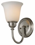 ELK 11433/1 Ventura 10 Inch Tall Wall Light Fixture - Brushed Nickel