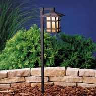 Kichler 15322agz Cross Creek Lantern Landscape Path Light