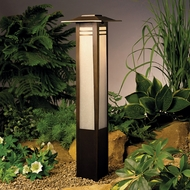 Kichler 15392oz Zen Garden Bollard Landscape Path Light