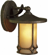 Kichler 9364AGZ Chicago 9.5 Inch Outdoor Wall Lantern
