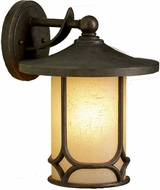 Kichler 9366AGZ Chicago 13 Inch Outdoor Wall Lantern