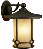 Kichler 9367AGZ Chicago 15 Inch Outdoor Wall Lantern
