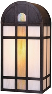 Arroyo Craftsman YW-10GWC Yorktown Craftsman Outdoor Wall Sconce - 10 inches wide