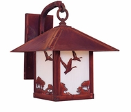 Arroyo Craftsman TRB-12GS Timber Ridge 12 inch Outdoor Wall Sconce with Goose Filigree
