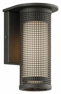 Troy B3741 Hive Small 8 Inch Tall Contemporary LED Exterior Light Sconce With Finish Options