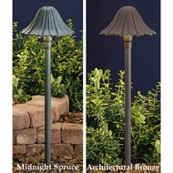 Kichler 15314 Single-Tier Leaf Landscape Path Light