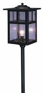 Arroyo Craftsman LV18-M6 Mission Craftsman Low Voltage Landscape Light - 26.5 inches tall
