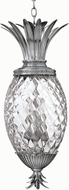 Hinkley 2222PL Silvery Plantation 4 Light Pearly Pendant