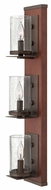 Fredrick Ramond 40203IRN Jasper 3-light Vertical Wall Sconce