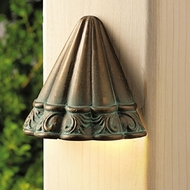 Kichler 15021vgb Ainsley Square Low-Voltage Deck Light