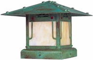 Arroyo Craftsman Outdoor Pier Mount Lighting