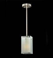 Meyda Tiffany 111396 Quadrato Reeded Contemporary Mini Pendant