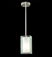 Meyda Tiffany 111397 Quadrato Fluted Contemporary Mini Pendant