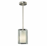 Meyda Tiffany 111393 Quadrato Mist Contemporary Mini Pendant