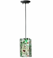 Meyda Tiffany 111351 Quadrato Confetti Parade Contemporary Mini Pendant