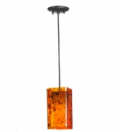 Meyda Tiffany 111348 Quadrato Confetti Magma Contemporary Mini Pendant