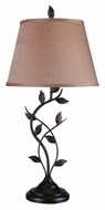 Kenroy Home 32239ORB Ashlen 30 Inch Tall Oil Rubbed Bronze Rustic Table Top Lamp