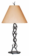 Kenroy Home 30908BRZ Twigs 32 Inch Tall Bronze Rustic Table Lamp Light