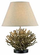 Kenroy Home 21081NR Piper Natural Reed Finish 26 Inch Tall Table Lamp