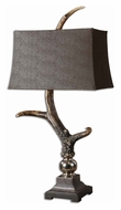 Uttermost 27960 Stag Bone Ivory Finish 34 Inch Tall Rustic Table Lamp