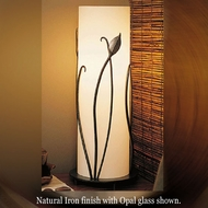 Hubbardton Forge 26-6792 Forged Leaves with Glass Table Lamp