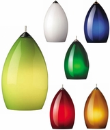 Tech Firefrost Conical Low-Voltage Halogen Art Glass Pendant Light