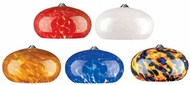 Tech Meteor Frit Low-Voltage Halogen Oval Glass Mini Pendant Light